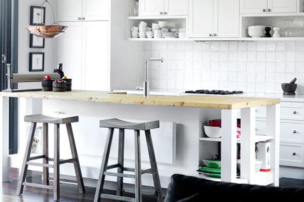 Styl Nowojorski W Kuchni Style Wnętrzarskie